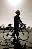 公路赛的骑自行车的人 免版税图库摄影