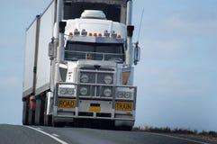 公路运输在澳洲 库存照片
