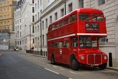 公车运送伦敦routemaster 免版税库存图片