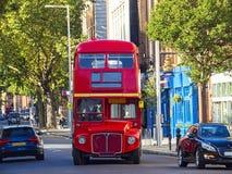 公车运送分层装置双伦敦 免版税图库摄影