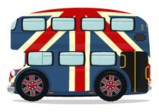 公车运送分层装置双伦敦 库存照片