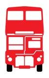 公车运送分层装置双伦敦 免版税库存图片