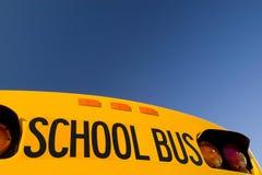 公车运送学校 免版税库存图片