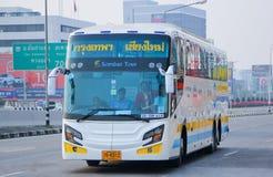 公车运送没有 18-198超级长的15米 免版税图库摄影