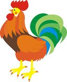 公鸡向量 库存照片