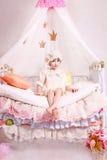 公主和豌豆 免版税库存照片