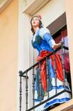 公主在马德里,西班牙 免版税库存照片