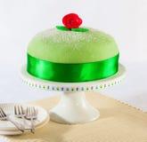 公主蛋糕 免版税库存图片