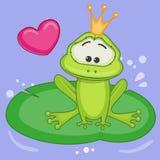 公主青蛙 免版税图库摄影