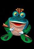 公主青蛙 免版税库存图片