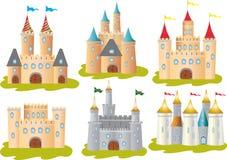 六座城堡 图库摄影