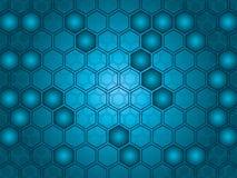 六角形向量 免版税库存照片
