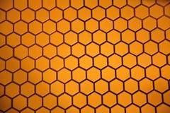 六角形地板 免版税库存照片
