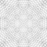 六角形墙壁 免版税库存照片
