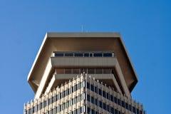 六角形大厦 免版税图库摄影
