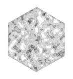 六角形大理石瓦片 向量例证