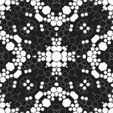 六角形无缝的样式背景 库存例证