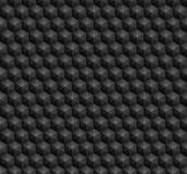 六角形无缝的样式 免版税图库摄影