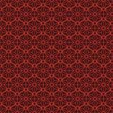 六角形星对称无缝的样式 库存图片