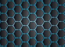 六角形样式背景 库存照片