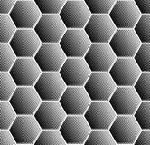 六角形样式 几何无缝的纹理 图库摄影