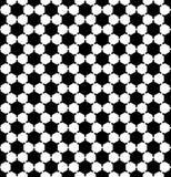 六角形样式 几何无缝的纹理 免版税库存照片