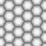 六角形样式 免版税图库摄影