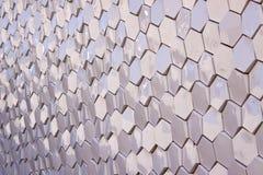 六角形模式无缝的瓦片向量 库存图片
