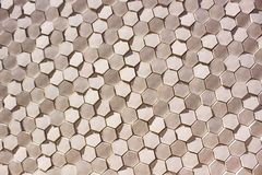 六角形模式无缝的瓦片向量 库存照片