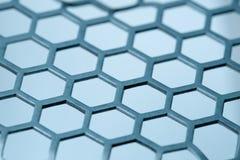 六角形的模式 免版税库存图片