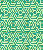 从六角形的Seamles几何样式和三角-导航eps8 免版税库存图片