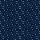 六角形线无缝的样式,特征模式背景,白色样式背景,传染媒介 皇族释放例证