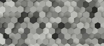 六角形背景 库存照片