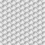 六角形金属摘要背景传染媒介 免版税库存图片