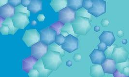 六角形 免版税库存照片