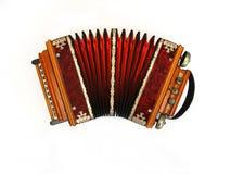 六角手风琴状俄语 免版税库存照片
