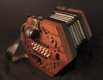 六角手风琴状英语 免版税库存图片