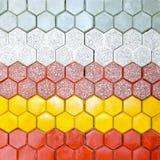 六角的砖 免版税库存图片