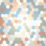 六角颜色样式摘要背景 库存图片