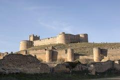 贝兰加城堡 库存照片