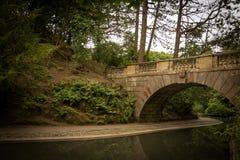 兰卡斯特公园美丽的景色  免版税库存照片