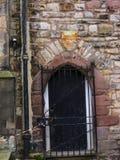 兰卡斯特城堡和前监狱在英国在城市的中心 免版税图库摄影
