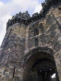 兰卡斯特城堡和前监狱在英国在城市的中心 库存图片