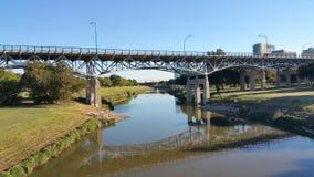 兰卡斯特大道桥梁 库存照片