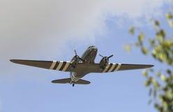 兰卡斯特轰炸机 免版税库存图片