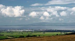 兰卡斯特, Lancashire,夏天 免版税图库摄影