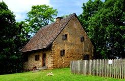 兰卡斯特, PA :汉斯1719先生House 免版税库存照片