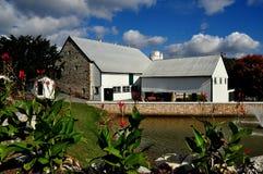 兰卡斯特, PA :门诺派中的严紧派的农厂和议院博物馆 库存图片