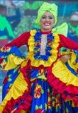 巴兰基利亚狂欢节 图库摄影