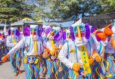 巴兰基利亚狂欢节 库存图片
